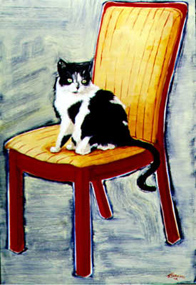 custom cat paintings